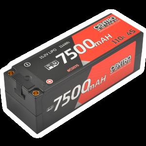 Centro HV 4S 7500mah 15.2v 110c Hardcase Lipo Battery