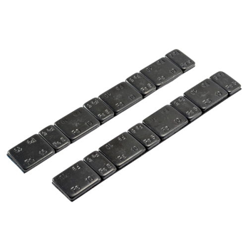 Centro Black Chassis Weights W/Adhesive 5g/10g x 2 strips
