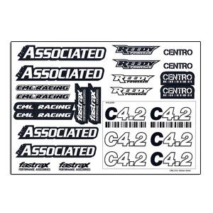 Centro C4.2 Logo Decal Sheet
